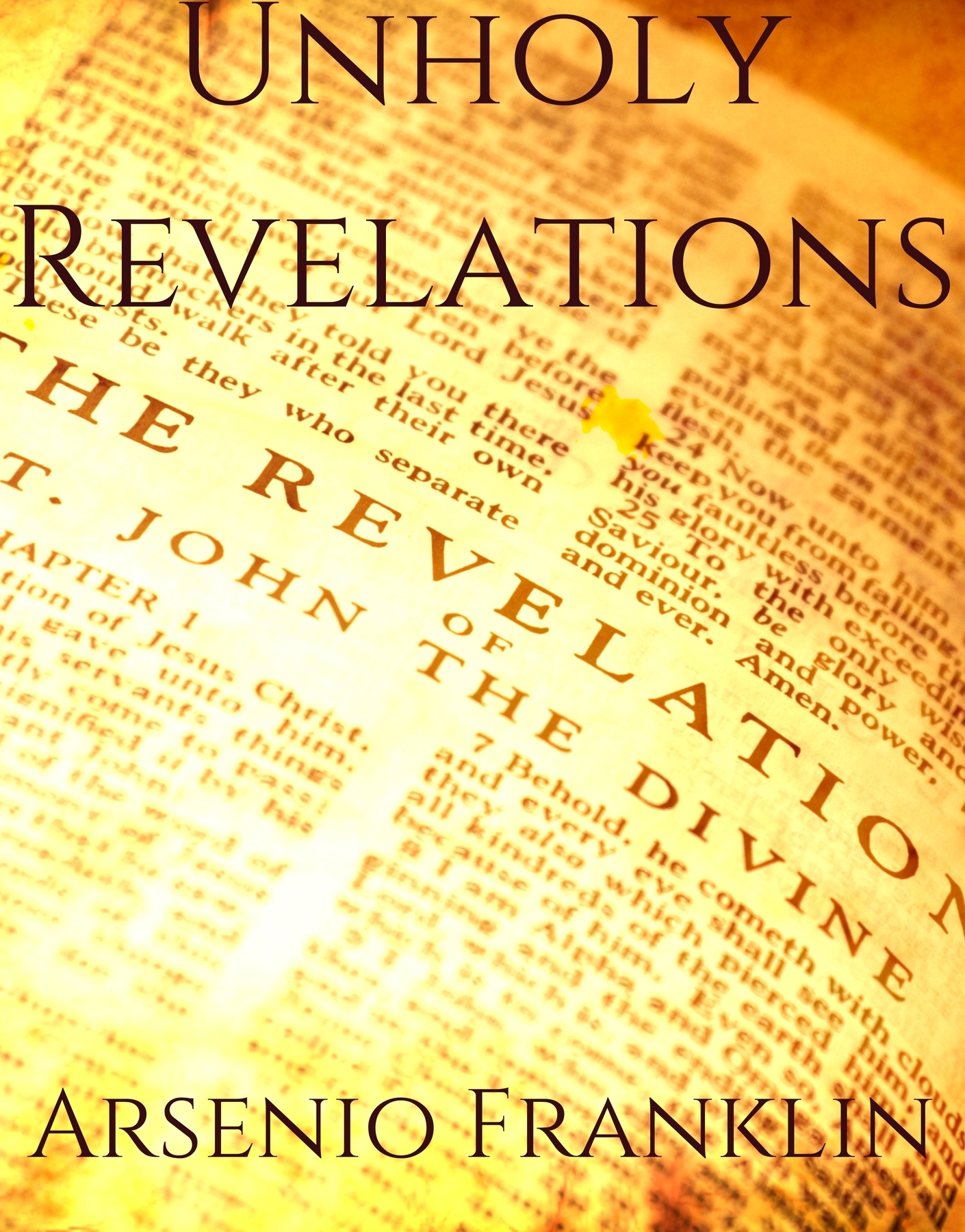 Unholy Revelations cover image