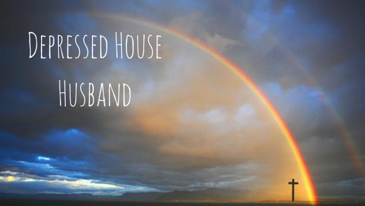 rainbow over cross