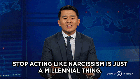 Stop acting like narcissism is just a millennial thing.